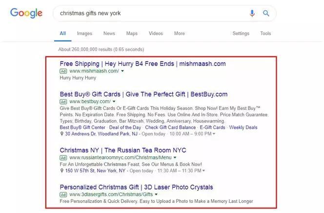圣诞创意营销之启动你的节日PPC广告