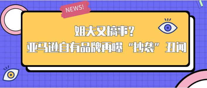 """姐夫又搞事?亚马逊自有品牌再曝""""抄袭""""丑闻"""