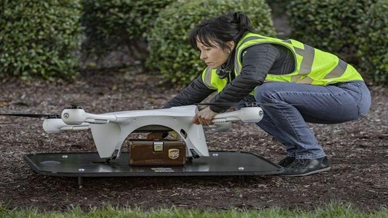 UPS获FZZ批准扩展无人机包裹递送业务