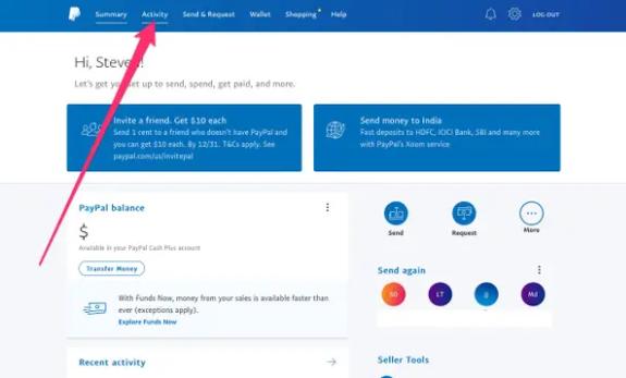 如何在PayPal上打印运送标签