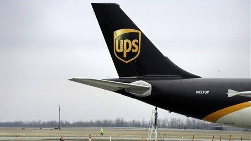 注意:多个国家UPS递送服务受影响