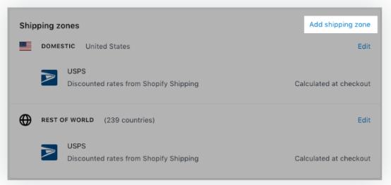 Shopify发货流程