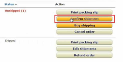 亚马逊订单发货操作