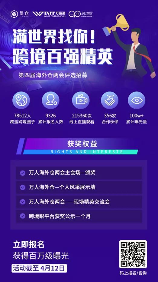 跨境百强精英奖