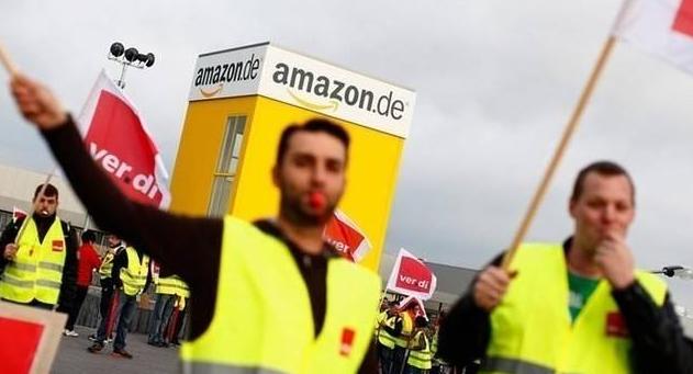 """黑五""""造反""""?亚马逊欧洲站工人集体罢工,长达24小时!"""