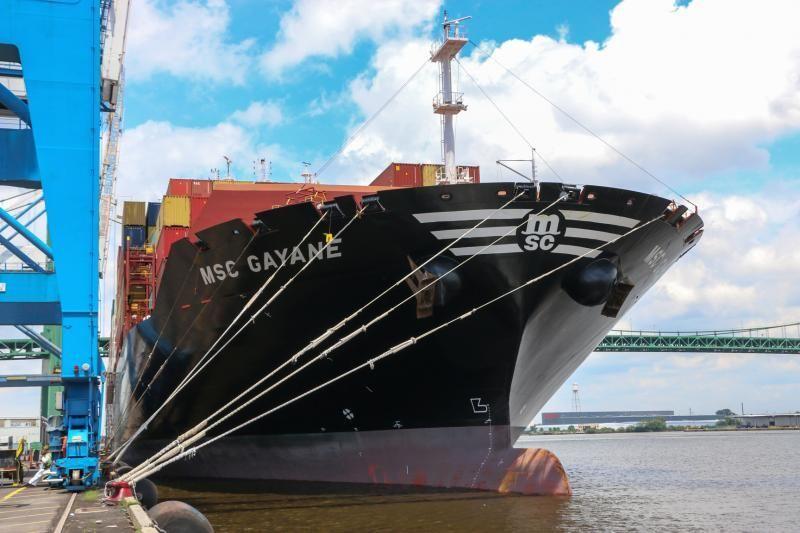 MSC这艘毒品集装箱船有可能被美国没收