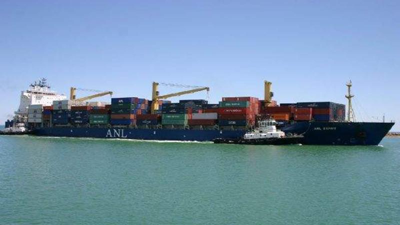 ANL旗下两艘集装箱船因台风受损严重,船期延误