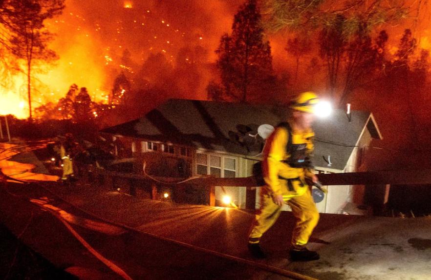 卖家注意!加州发生历史性大火,亚马逊仓库恐受牵连!