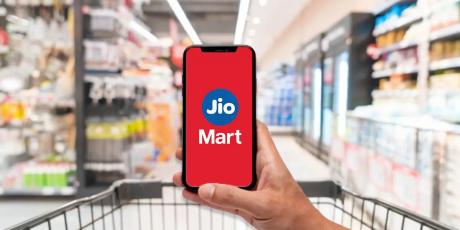 最新数据,印度电商平台JioMart八月份下载量跻身印度购物软件前三名