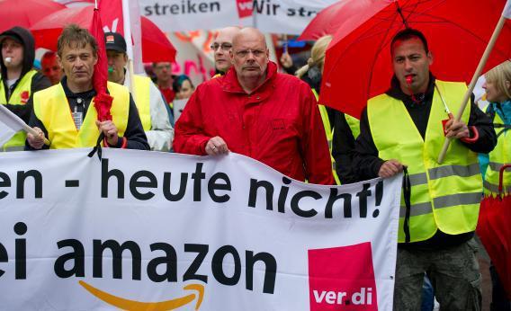 亚马逊Prime Day德国员工集体大罢工,原因竟是…